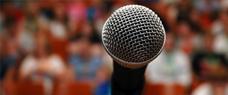 Início: 26/11 - Oratória - Como Falar Bem em Público